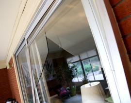 Broken Glass Patio Door repair