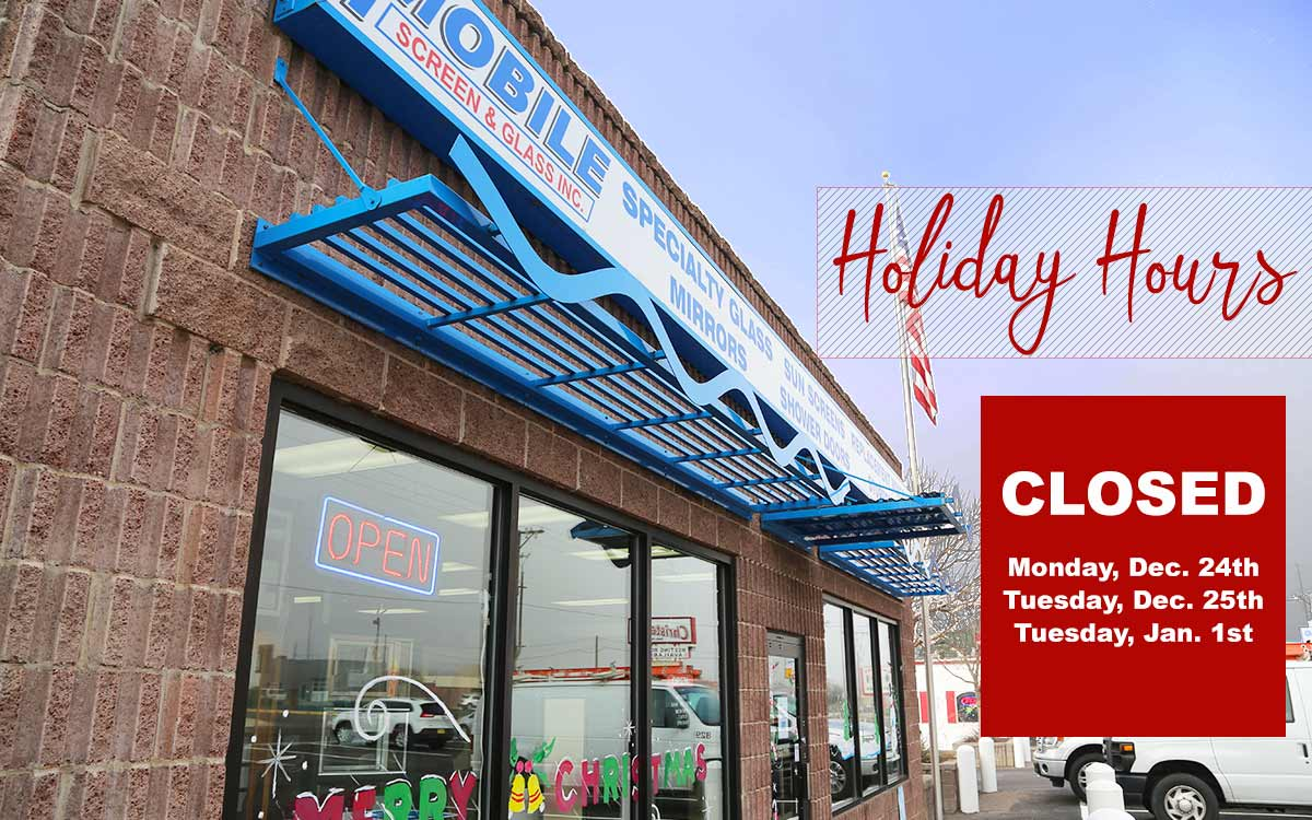 Mobile Screen and Glass Holiday Hours