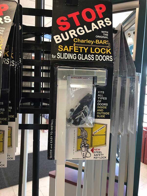 Stop burglars with the Charley Bar