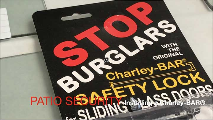 Charley bar slows burglars down