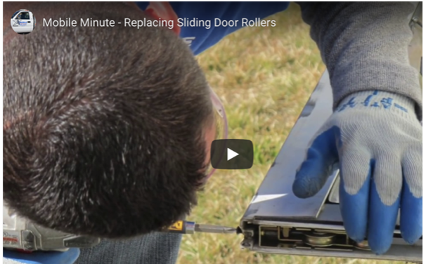 Do it yourselfers - watch our door repair video